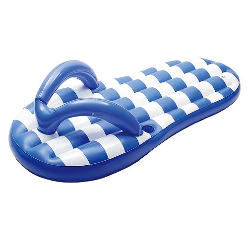 Sandale de plage gonflable, bleu marine, 1,80 m (71 po)