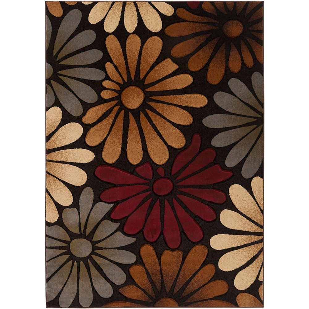 Artistic Weavers Carpette, 7 pi 10 po x 10 pi 3 po, rectangulaire, brun Bejuma