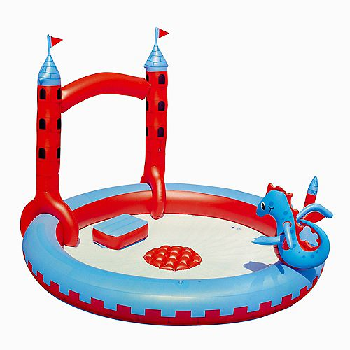 Interactive Castle Inflatable Play Pool