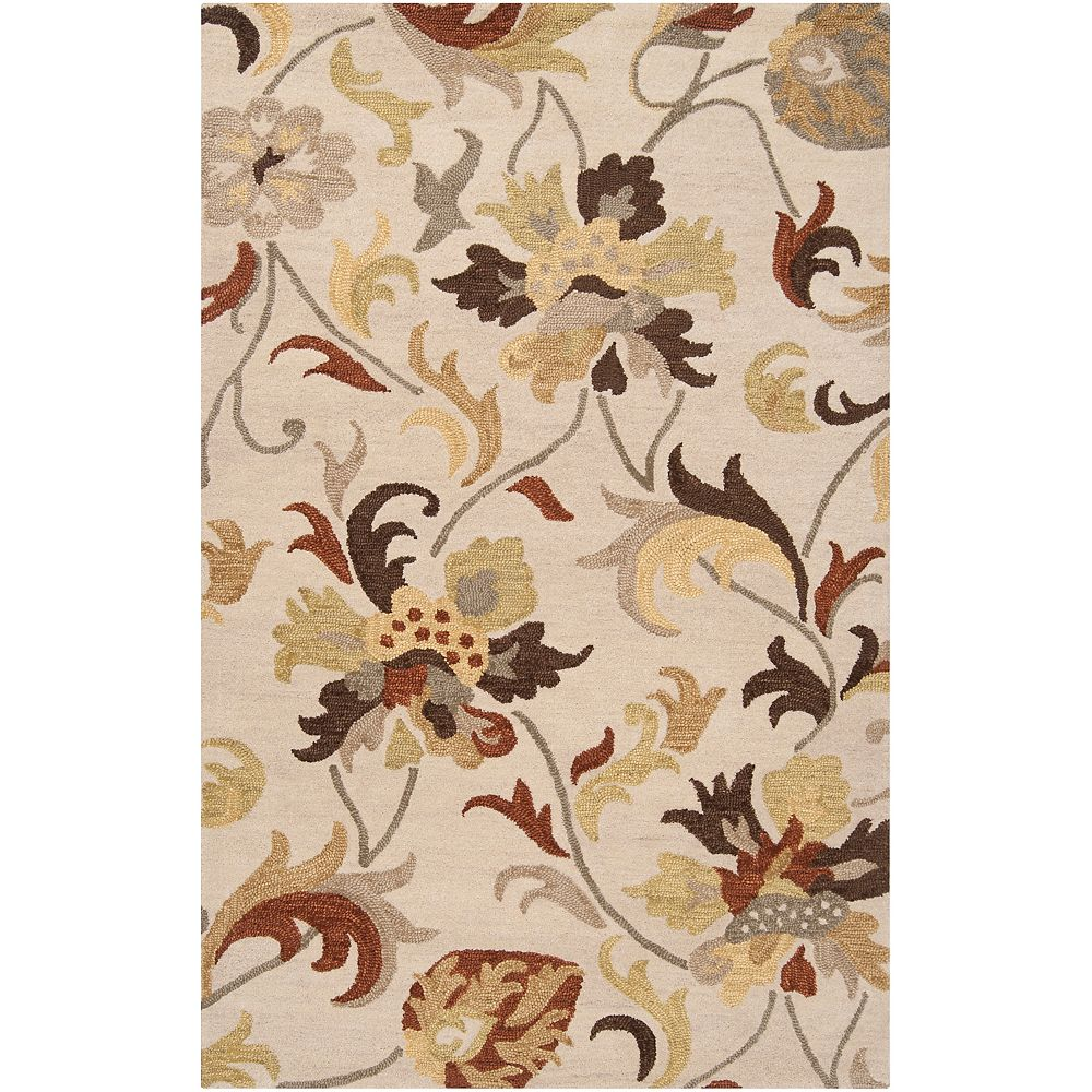 Artistic Weavers Carpette, 8 pi x 11 pi, rectangulaire, havane Canata