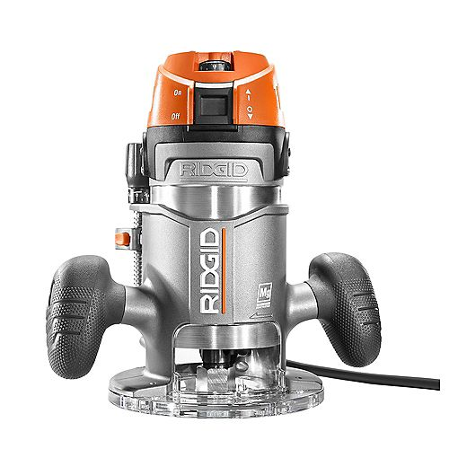 11 Amp 2 HP 1/2 -inch Corded Fixed Base Router