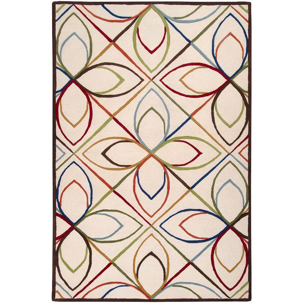 Artistic Weavers Gravati Multi-Colour 5 ft. x 8 ft. Rectangular Area Rug