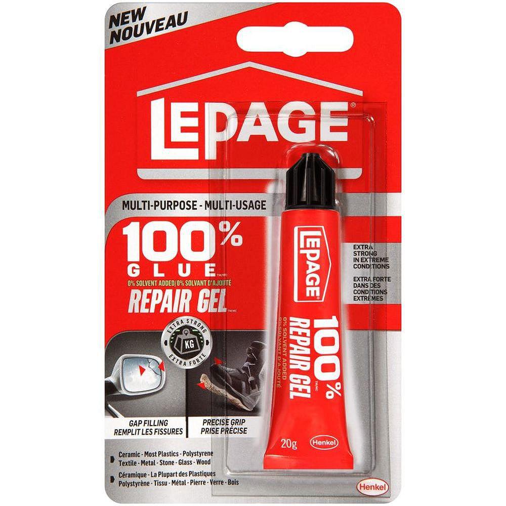 LePage LePage 100% Glue Repair Gel, 20 g