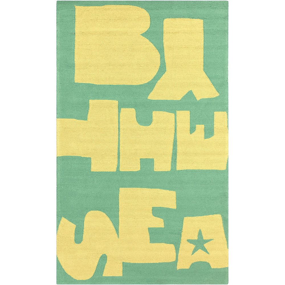 Artistic Weavers Batavia Blue 5 ft. x 8 ft. Rectangular Area Rug