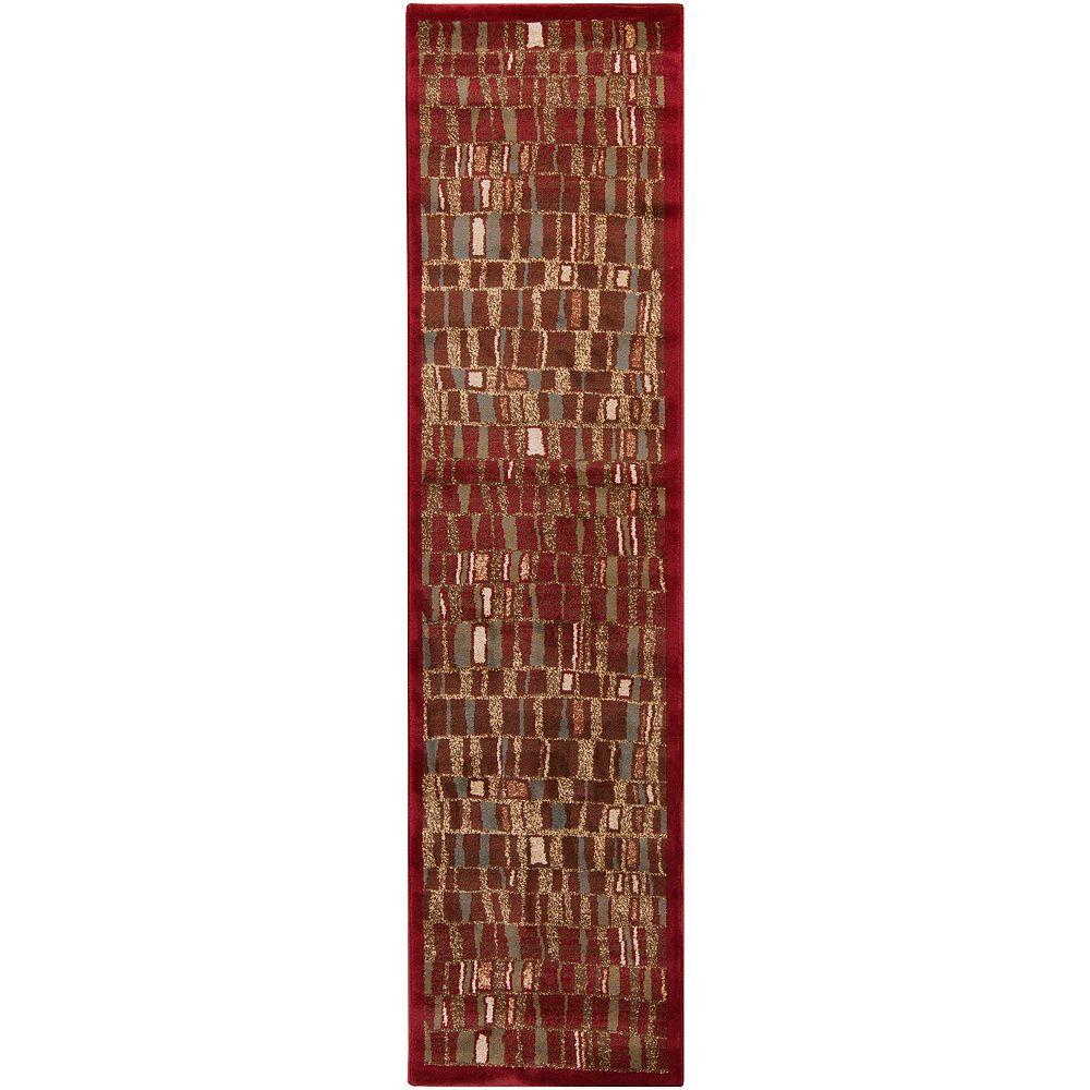Artistic Weavers Boskamp Red 2 ft. x 7 ft. 5-inch Runner