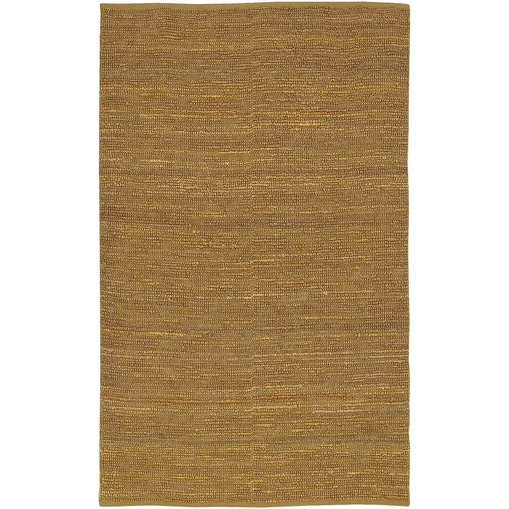 Artistic Weavers Carpette d'intérieur, 8 pi x 11 pi, tissage texturé, rectangulaire, vert Pintana
