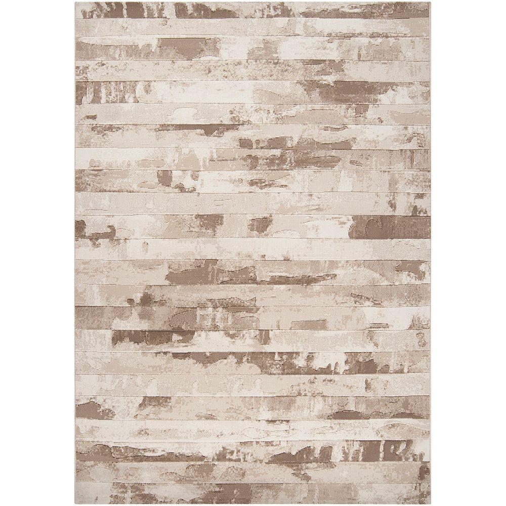 Artistic Weavers Carpette d'intérieur, 2 pi x 3 pi, style contemporain, rectangulaire, havane Hurtado
