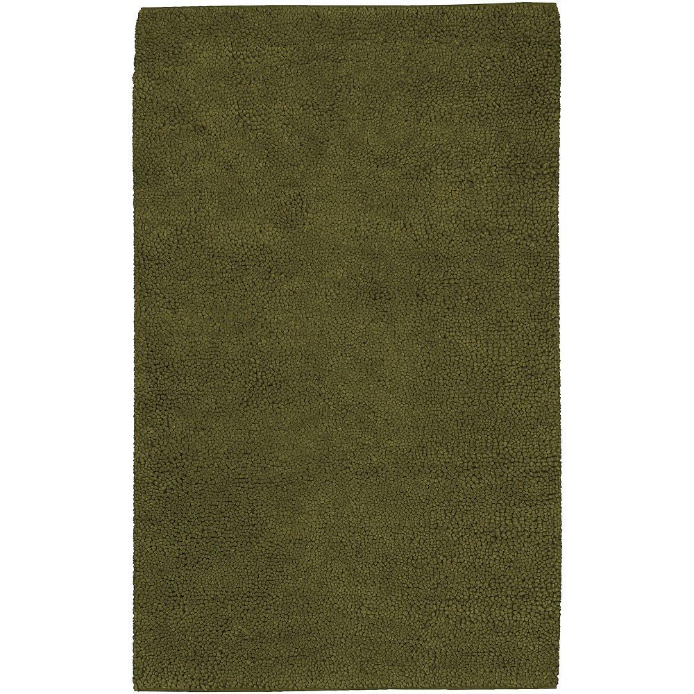 Artistic Weavers Carpette d'intérieur, 8 pi x 10 pi 6 po, à poils longs, rectangulaire, vert Imperial