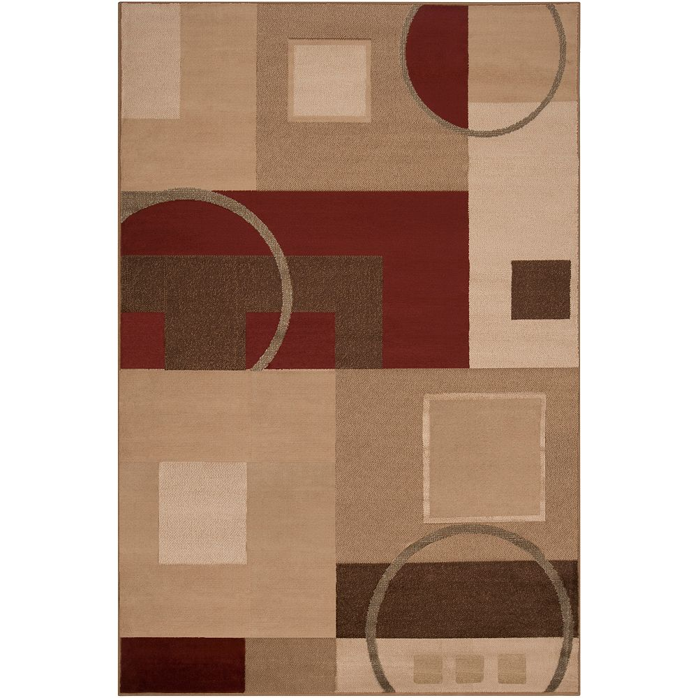 Artistic Weavers Matura Beige Tan 2 ft. x 3 ft. Indoor Transitional Rectangular Accent Rug
