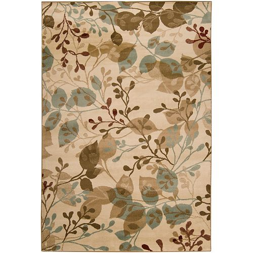 Pampatar Beige Tan 5 ft. 3-inch x 7 ft. 6-inch Indoor Transitional Rectangular Area Rug