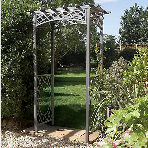 Wrenbury Square Top Metal Arch