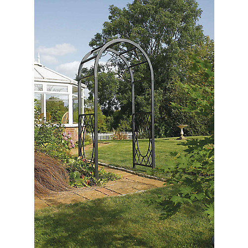Wrenbury Round Top Metal Arch