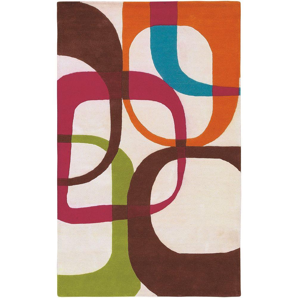 Artistic Weavers Mossoro Multi-Colour 8 ft. x 11 ft. Rectangular Area Rug