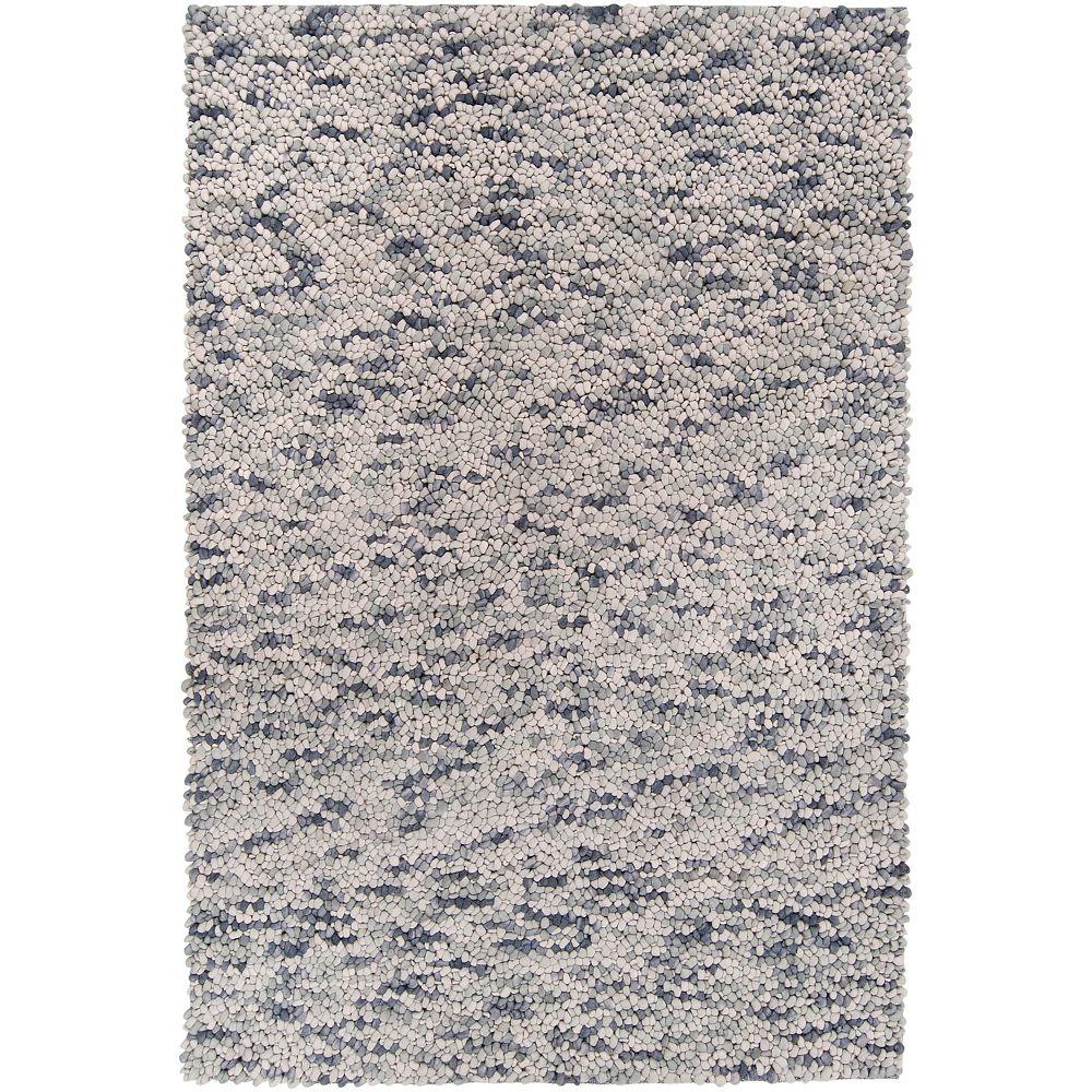 Artistic Weavers Carpette, 2 pi x 3 pi, rectangulaire, gris Varzia