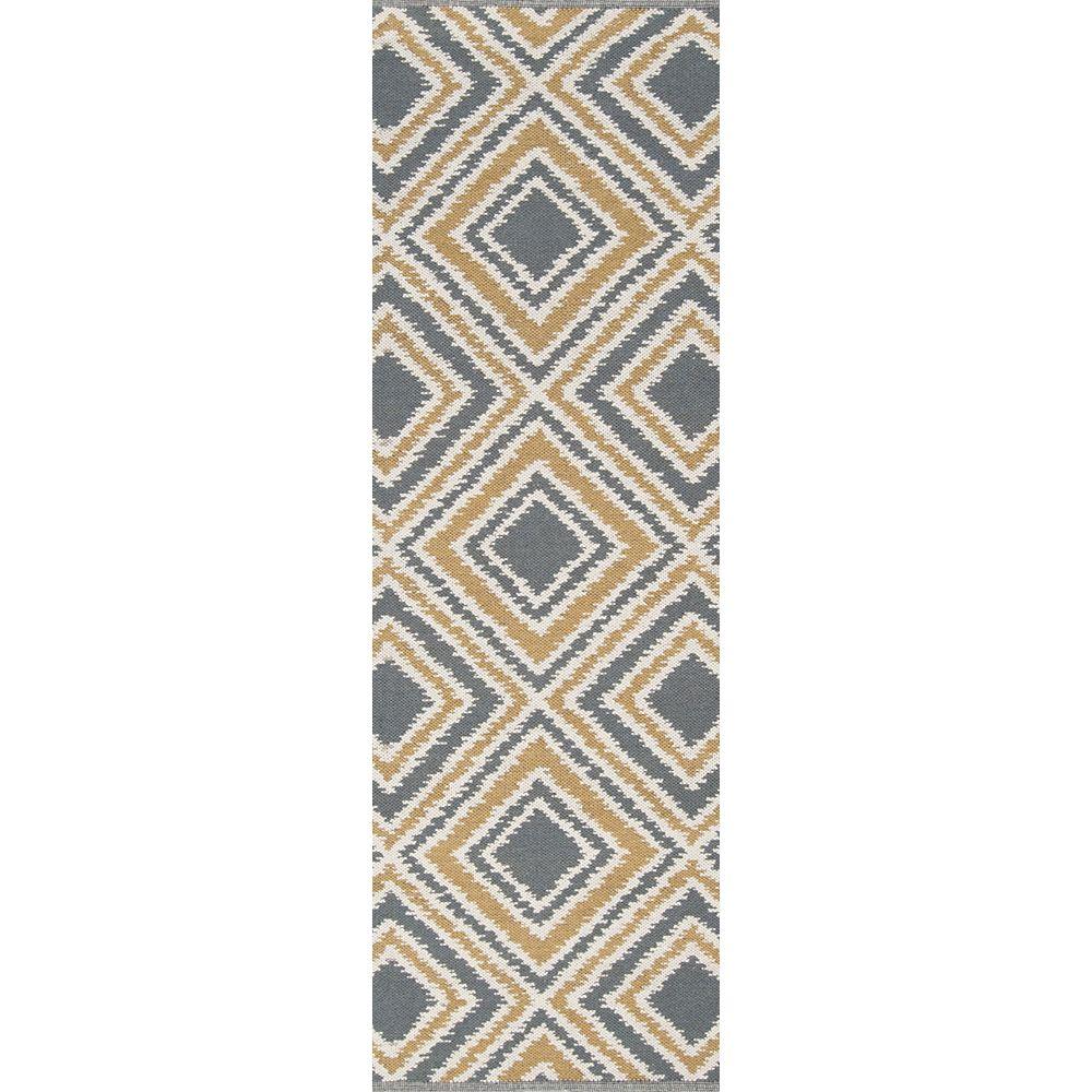 Artistic Weavers Tapis de passage d'intérieur, 2 pi 6 po x 8 pi, style transitionnel, gris Parana