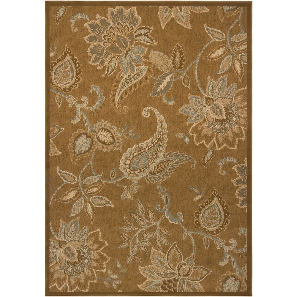 Artistic Weavers Carpette, 7 pi 6 po x 10 pi 6 po, rectangulaire, brun Esmera