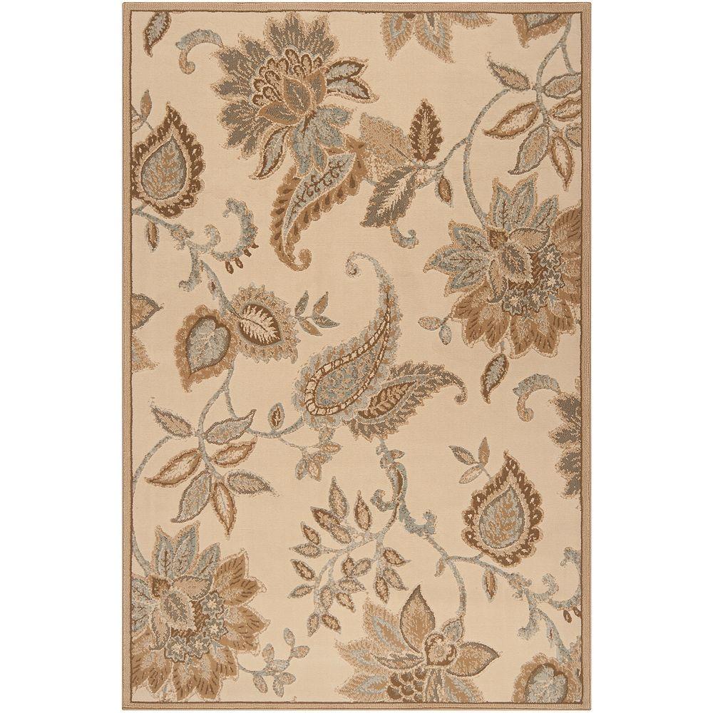 Artistic Weavers Carpette, 5 pi 3 po x 73 pi 6 po, rectangulaire, havane Maroa