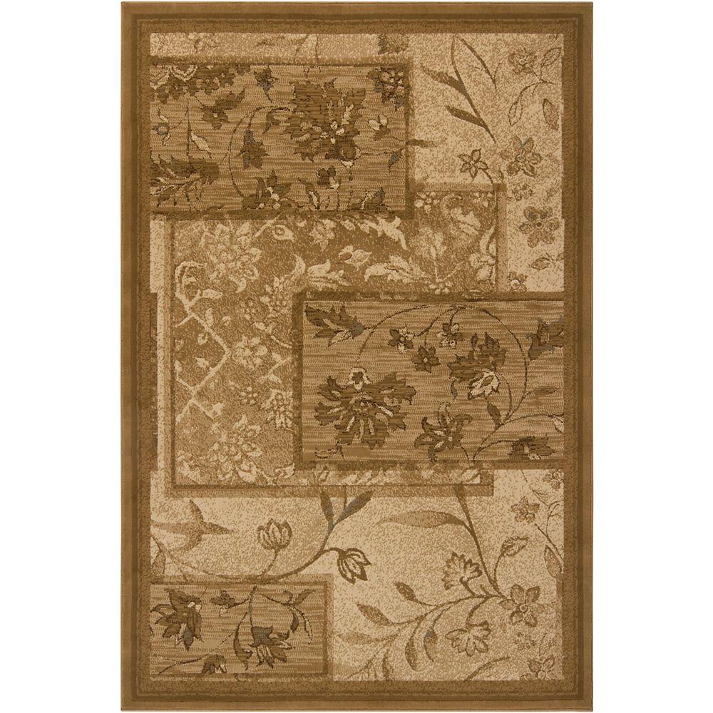 Artistic Weavers Carpette, 1 pi 9 po x 3 pi, rectangulaire, brun Atabapo
