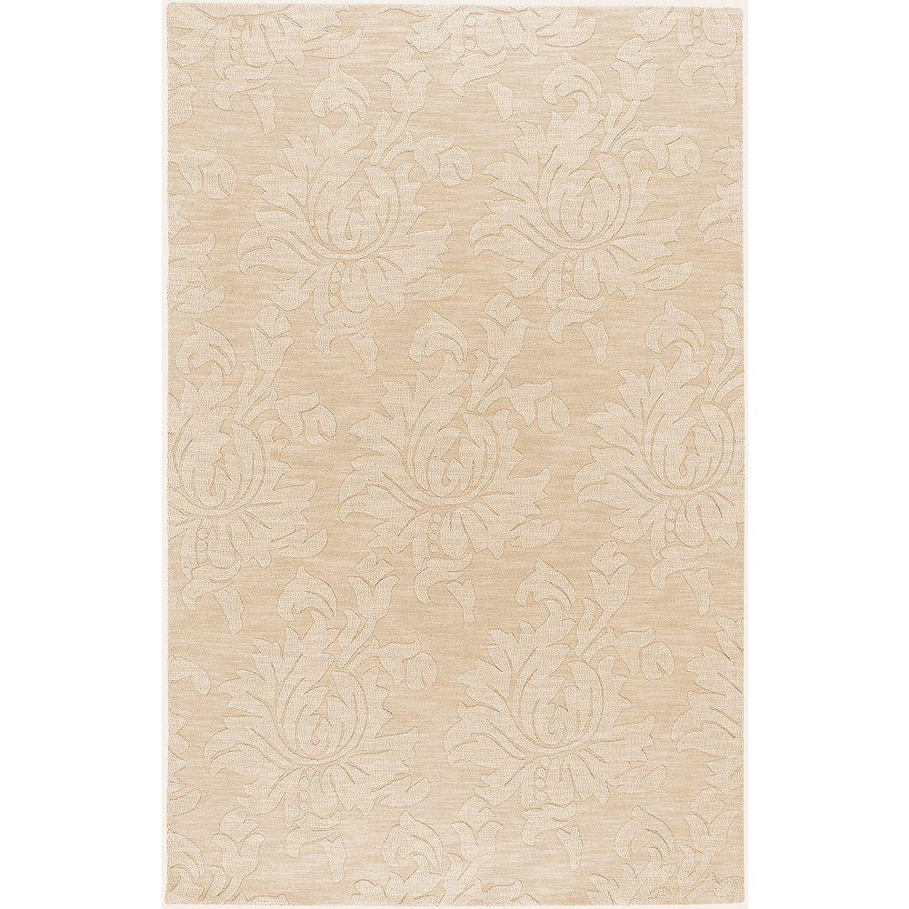 Artistic Weavers Parigua Beige Tan 5 ft. x 8 ft. Indoor Contemporary Rectangular Area Rug