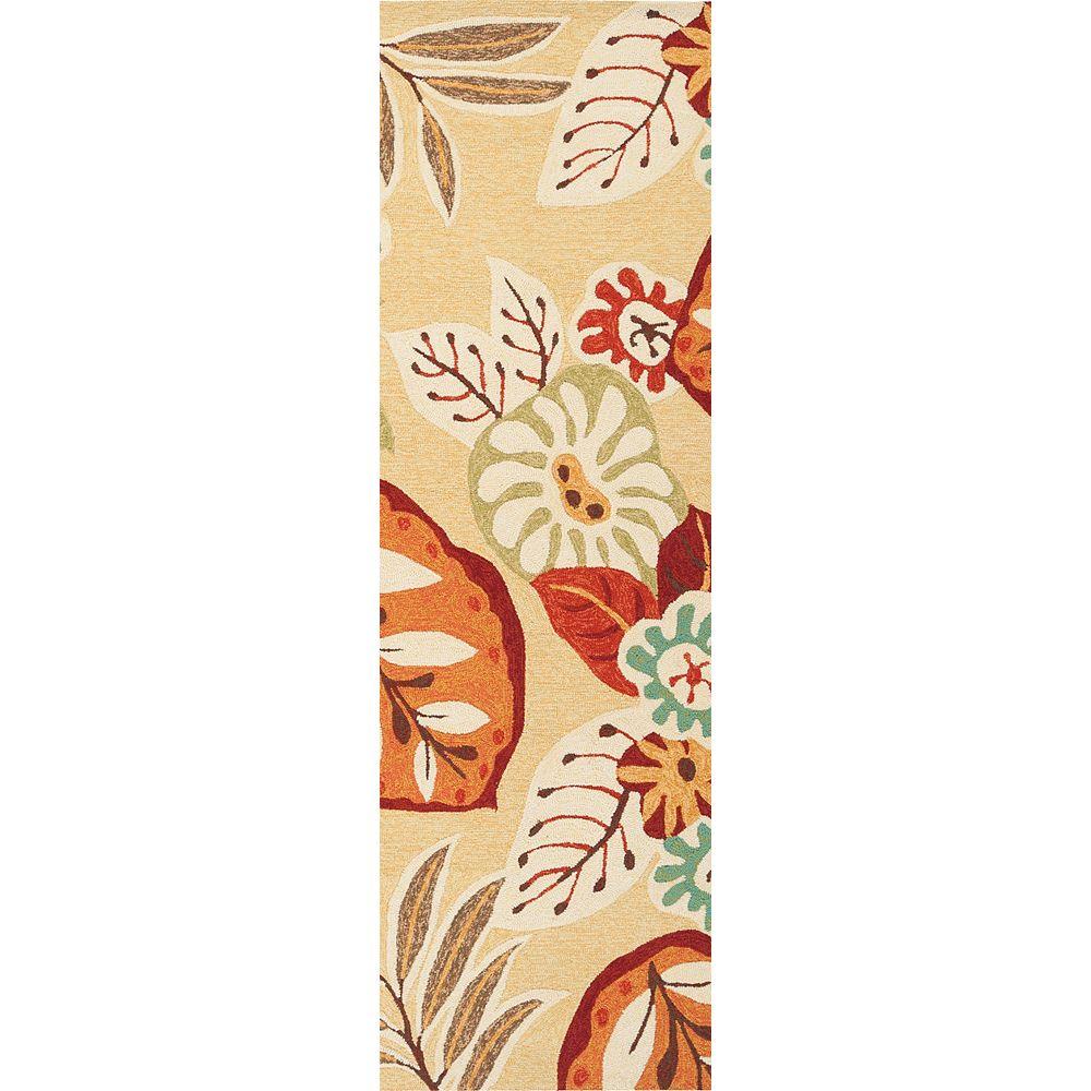 Artistic Weavers Carpette, 8 pi x 11 pi, rectangulaire, jaune Montevide
