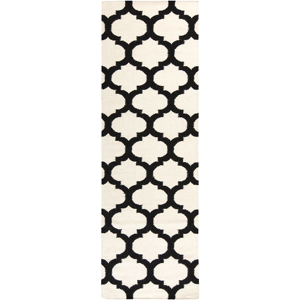 Artistic Weavers Saffre Off-White 2 ft. 6-inch x 8 ft. Indoor Contemporary Runner