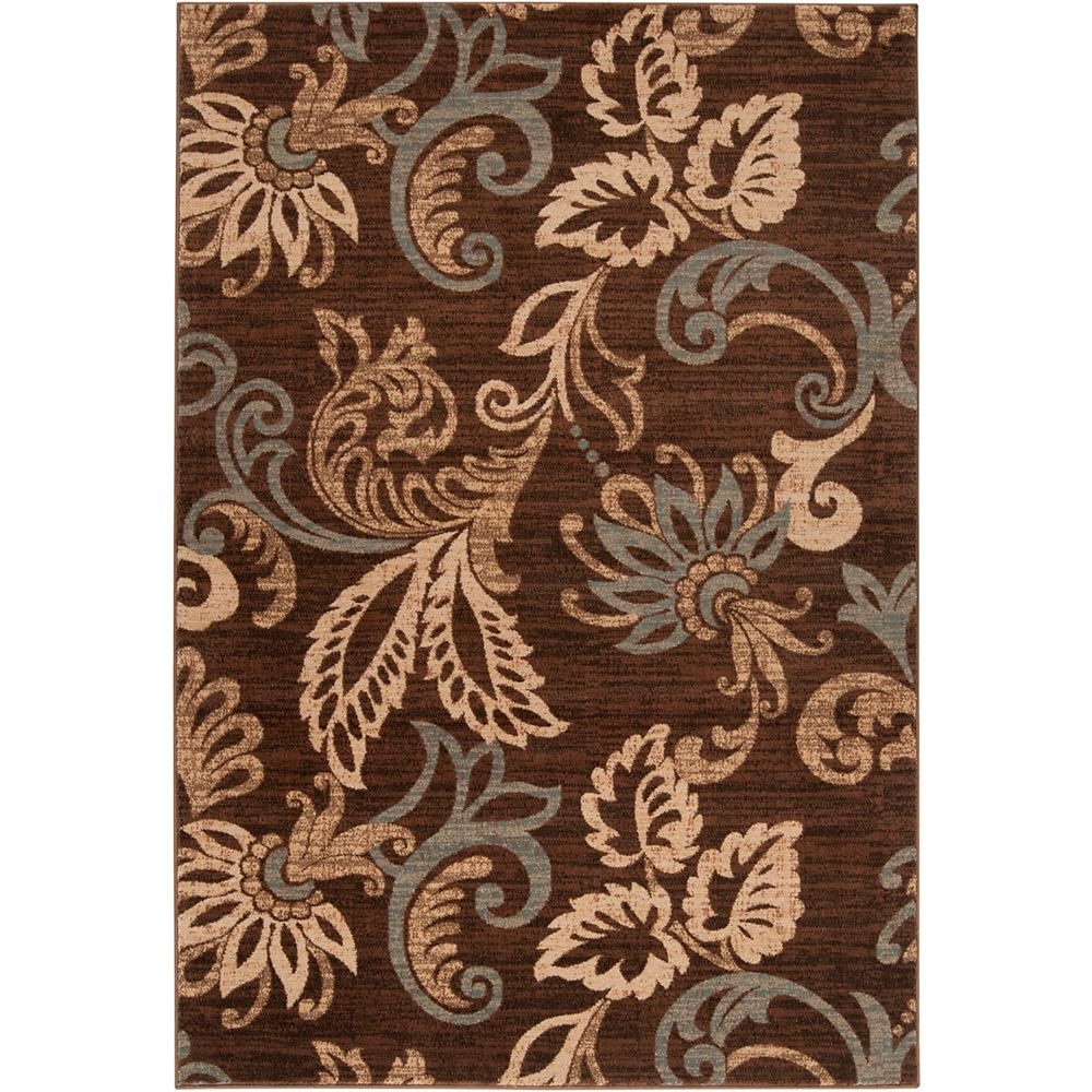 Artistic Weavers Pokigra Brown 2 ft. x 3 ft. 3-inch Indoor Transitional Rectangular Accent Rug