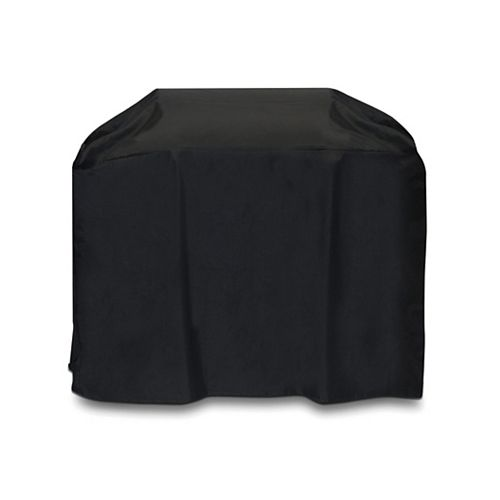 54-inch Cart Style BBQ Cover in Black