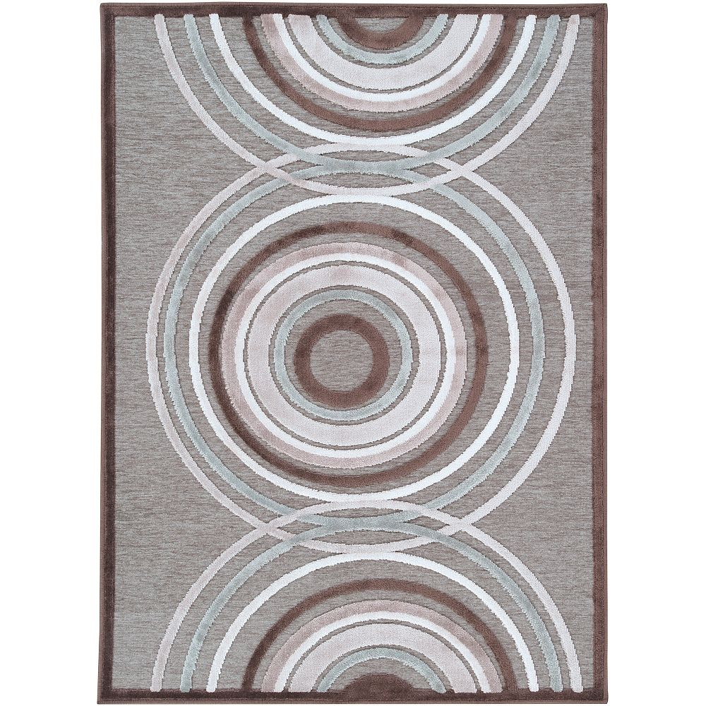 Artistic Weavers Carpette, 2 pi 2 po x 3 pi, rectangulaire, gris Alegre