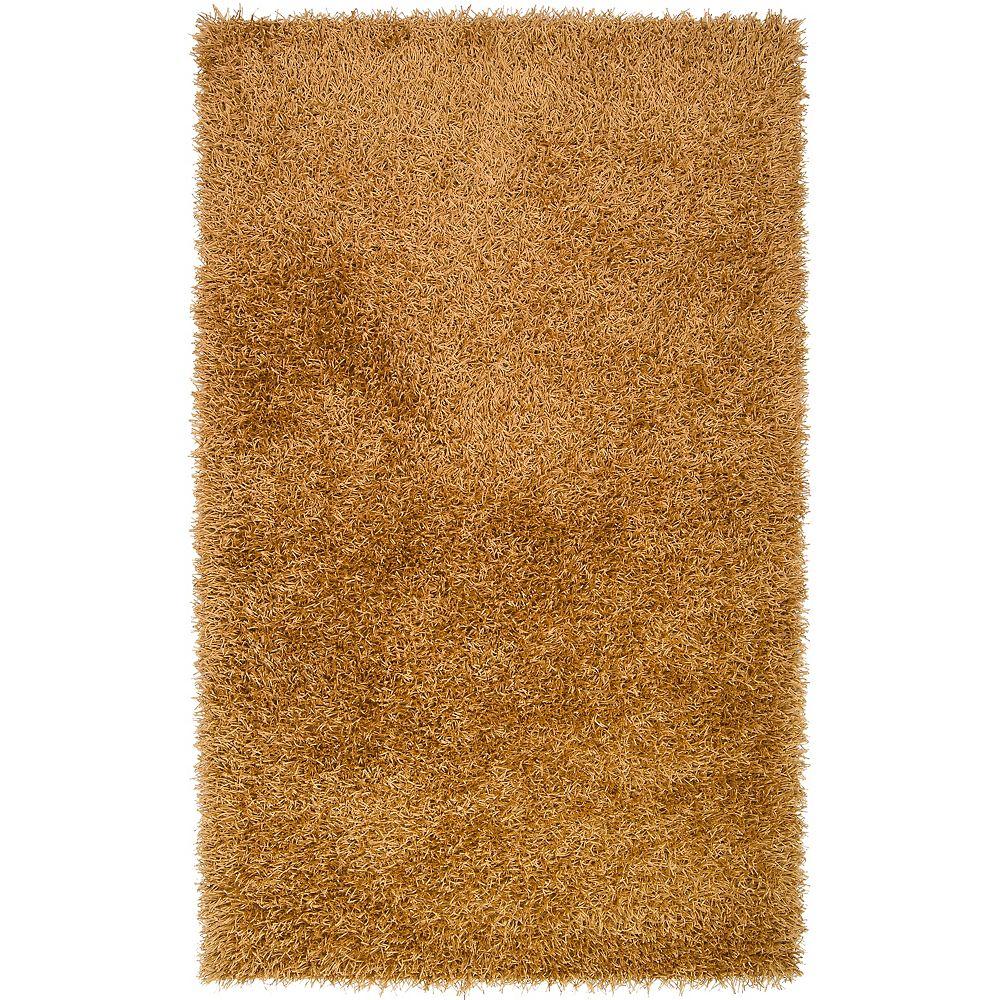 Artistic Weavers Carpette, 5 pi x 8 pi, rectangulaire, brun Maskeri