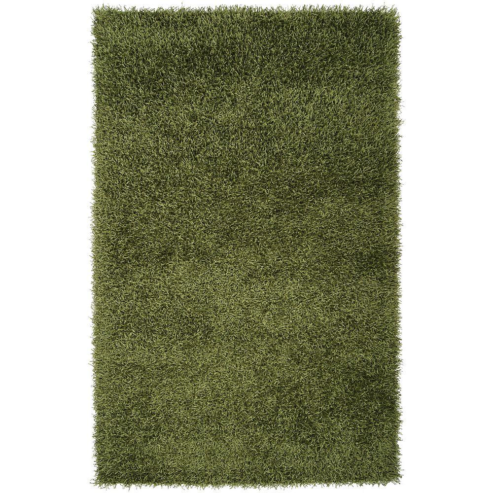 Artistic Weavers Carpette, 8 pi x 10 pi, rectangulaire, vert Salaria