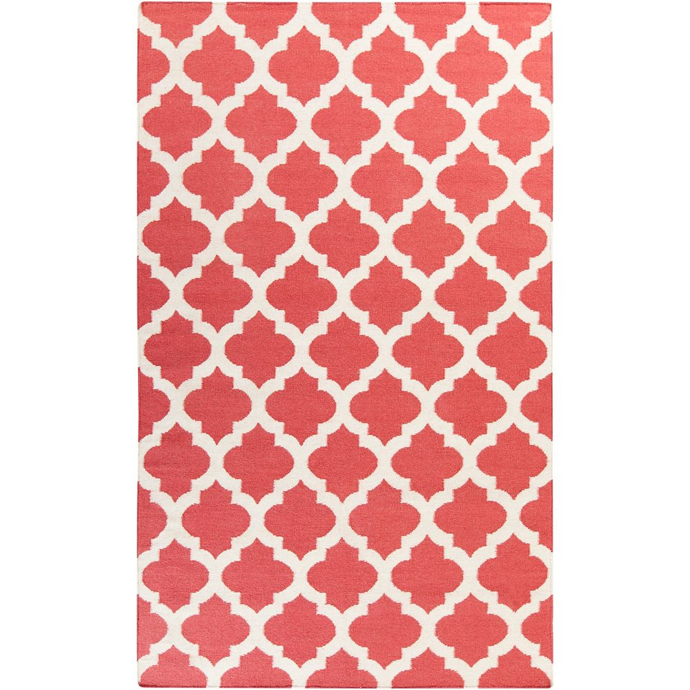 Artistic Weavers Saffre Red 3 ft. 6-inch x 5 ft. 6-inch Indoor Contemporary Rectangular Area Rug