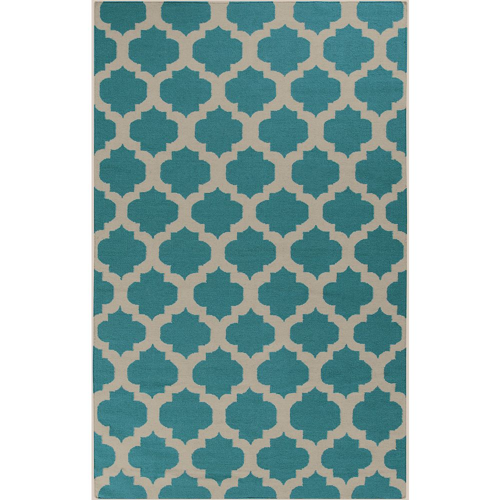 Artistic Weavers Carpette, 3 pi 6 po x 5 pi 6 po, rectangulaire, bleu Saffre
