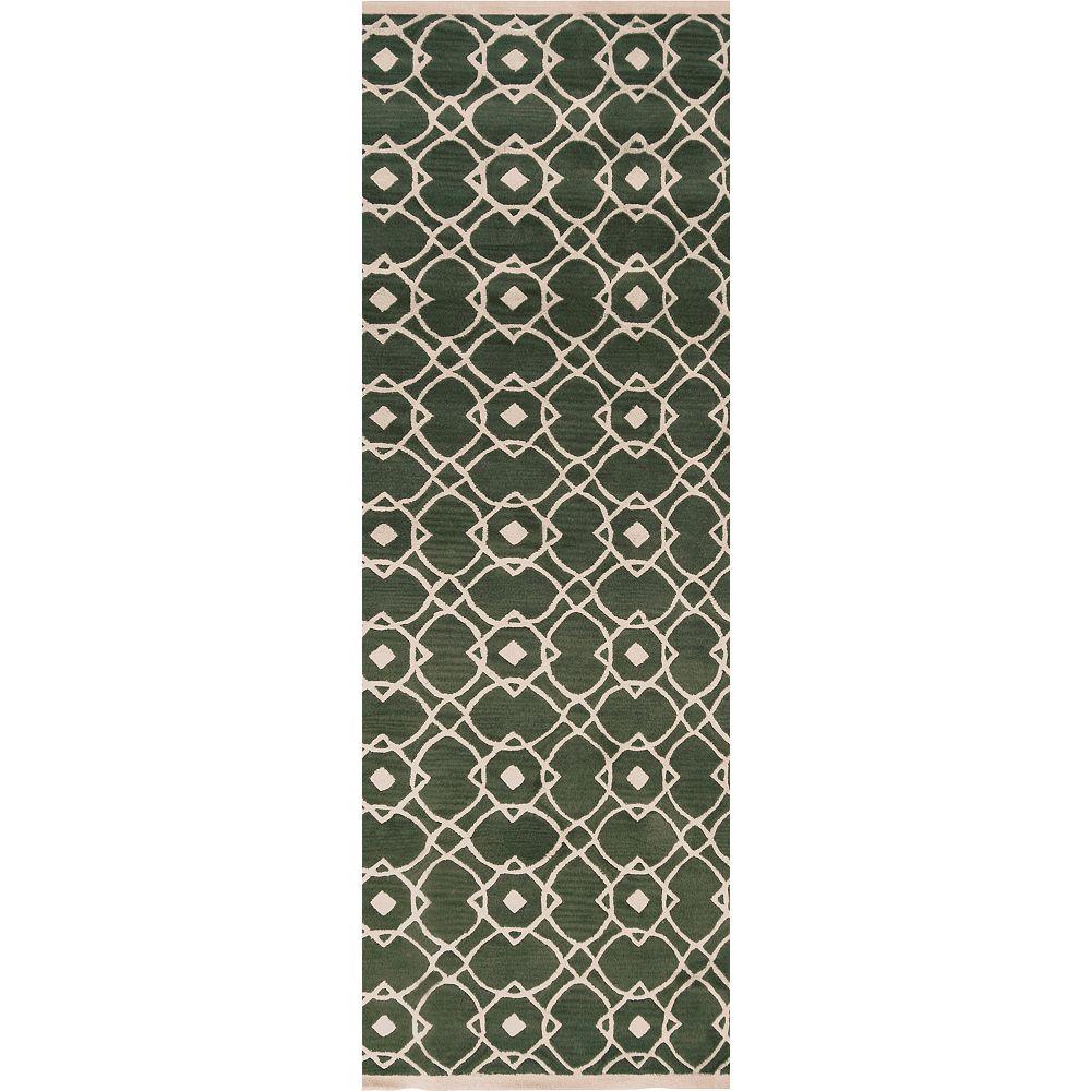 Artistic Weavers Carpette, 8 pi x 11 pi, rectangulaire, gris Taintrux