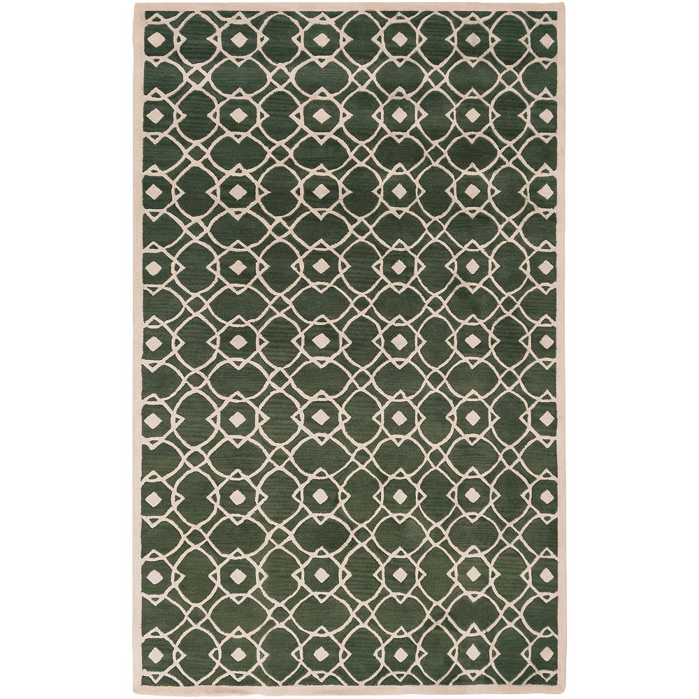 Artistic Weavers Taintrux Off-White 5 ft. x 8 ft. Indoor Contemporary Rectangular Area Rug