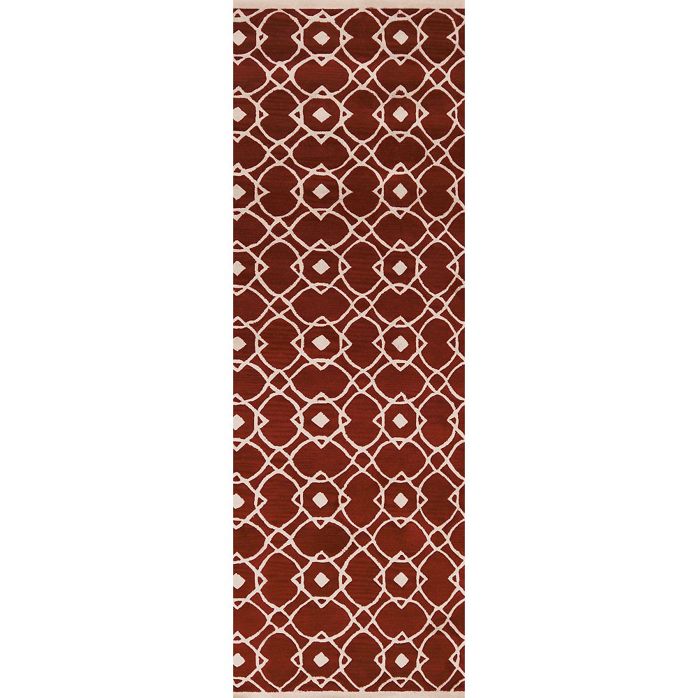 Artistic Weavers Taintrux Red 2 ft. 6-inch x 8 ft. Indoor Contemporary Runner