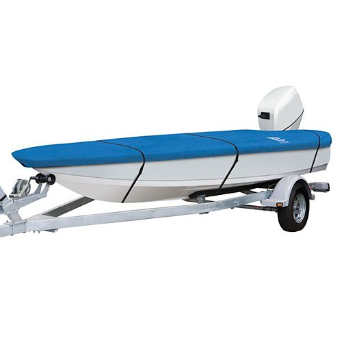 Stellex All Seasons Boat Cover, Fits Boats 12 ft. - 14 ft. L x 68 inch W