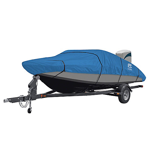 Stellex All Seasons Boat Cover, Fits Boats 17 ft. - 19 ft. L x 102 inch W