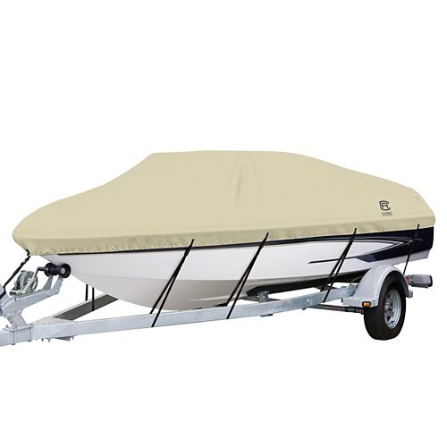 DryGuard Waterproof Boat Cover, Fits Boats 16 ft. - 18.5 ft. L x 98 inch W
