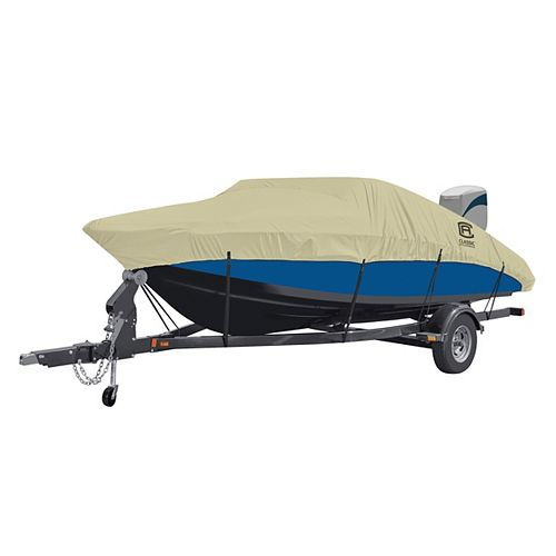 DryGuard Waterproof Boat Cover, Fits Boats 20 ft. - 22 ft. L x 106 inch W