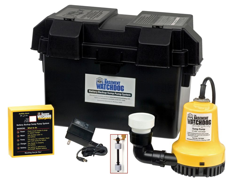 1/4 HP Emergency Battery Backup Automatic Sump Pump