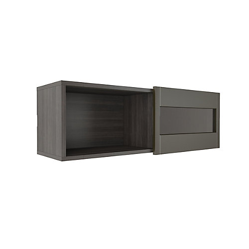Nuance Wall Shelf with Sliding Door