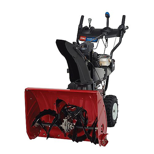 Power Max 724 OE 2-Stage Electric Start Gas Snowblower with 24-inch Clearing Width