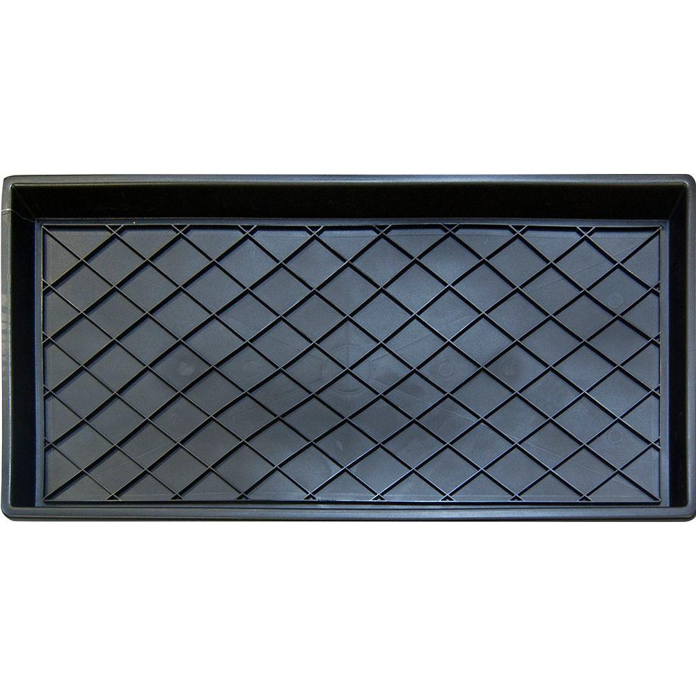 TrafficMASTER Paillasson-égouttoir rectangulaire d'intérieur Regal, 1pi2po x 2pi4po, noir