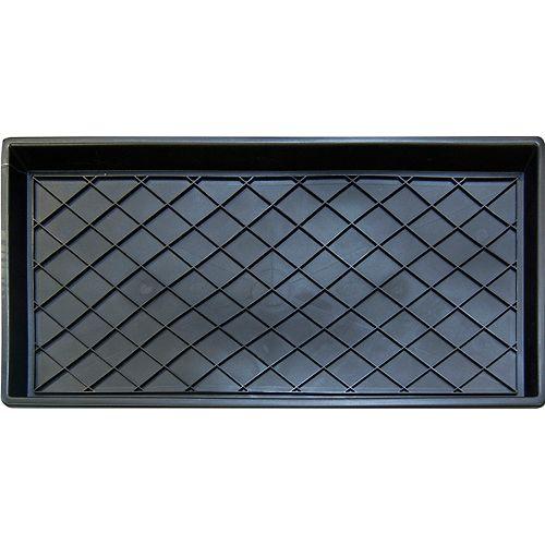 Paillasson-égouttoir rectangulaire d'intérieur Regal, 1pi2po x 2pi4po, noir