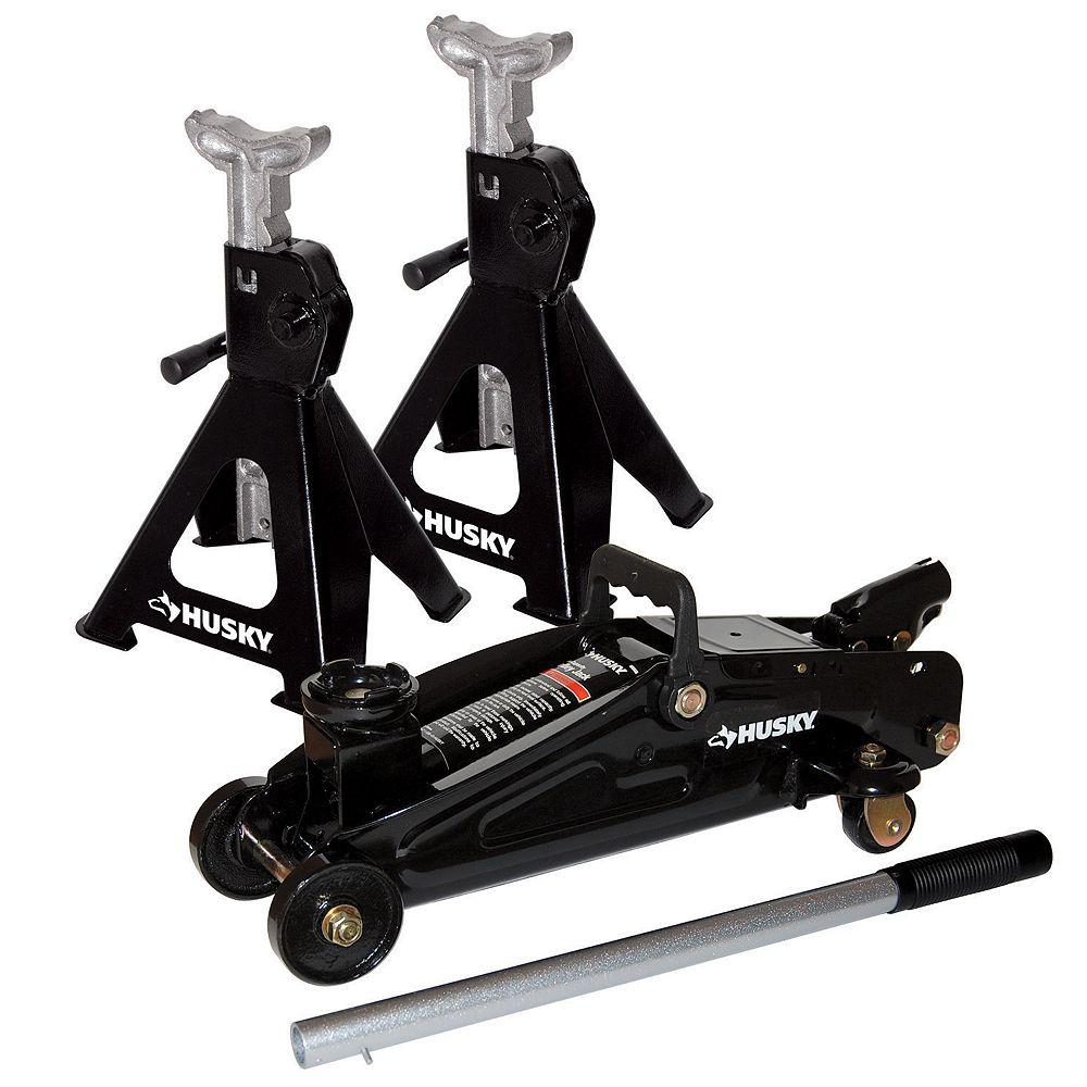 Husky 2 Ton Hydraulic Trolley Jack Kit