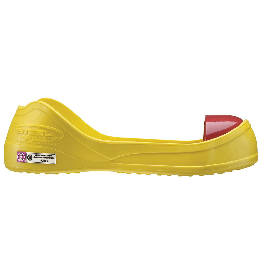 Steel-Flex Yellow CSA Z334 Steel Toe Overshoe  Large