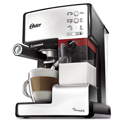 Prima Latte One Touch Automatic Espresso, Cappuccino and Latte Maker