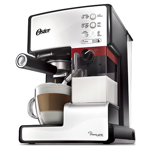 Cafetière Prima Latte à pression unique pour expresso, cappuccino et latte