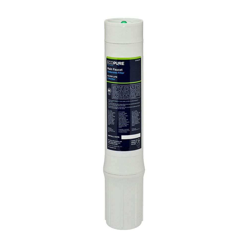 EcoPure Main Faucet Replacement Filter