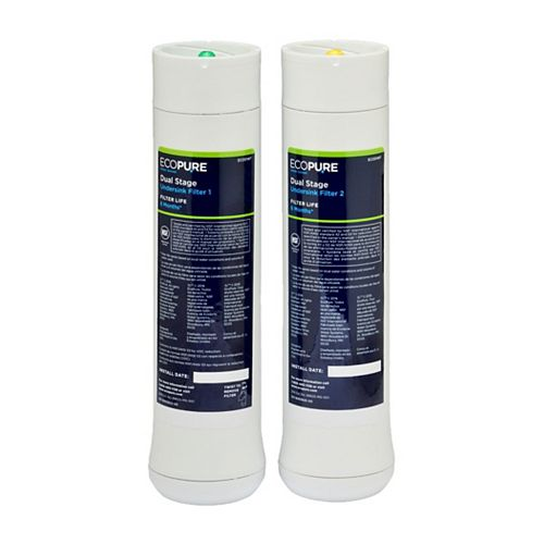 Glacier Bay Dual Stage Replacement Filter Set